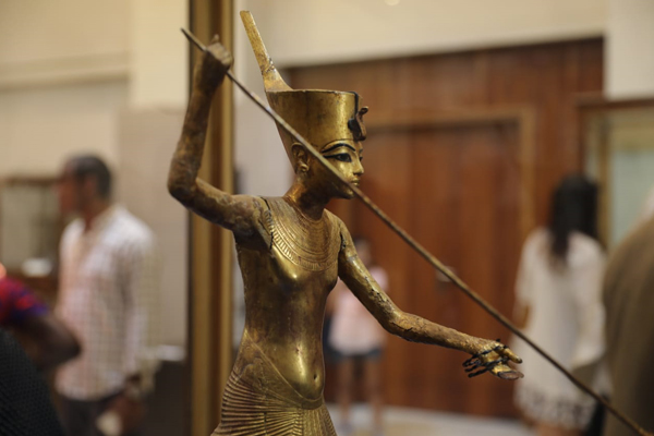 Sports exhibition at the Egyptian Museum