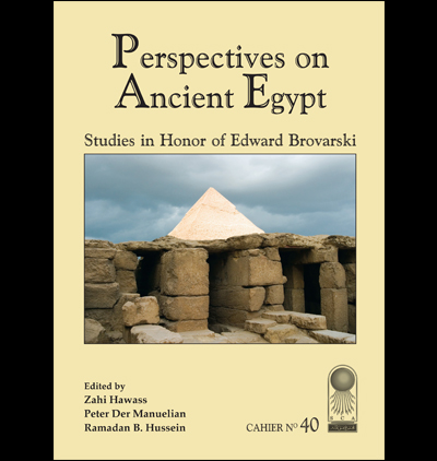 Cahier 40  Perspectives Ancient Egypt